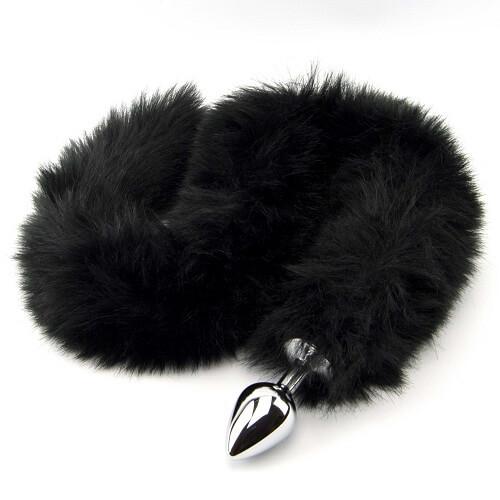Furry Fantasy Metal Butt Plug Tail